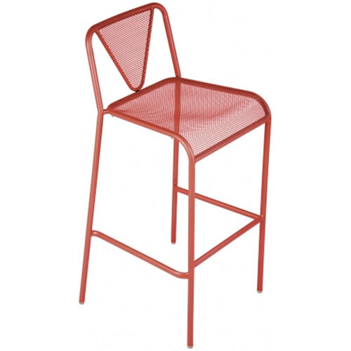 Our Venice Beach Micro Mesh Stacking Barstool - Grenadine is on sale now.