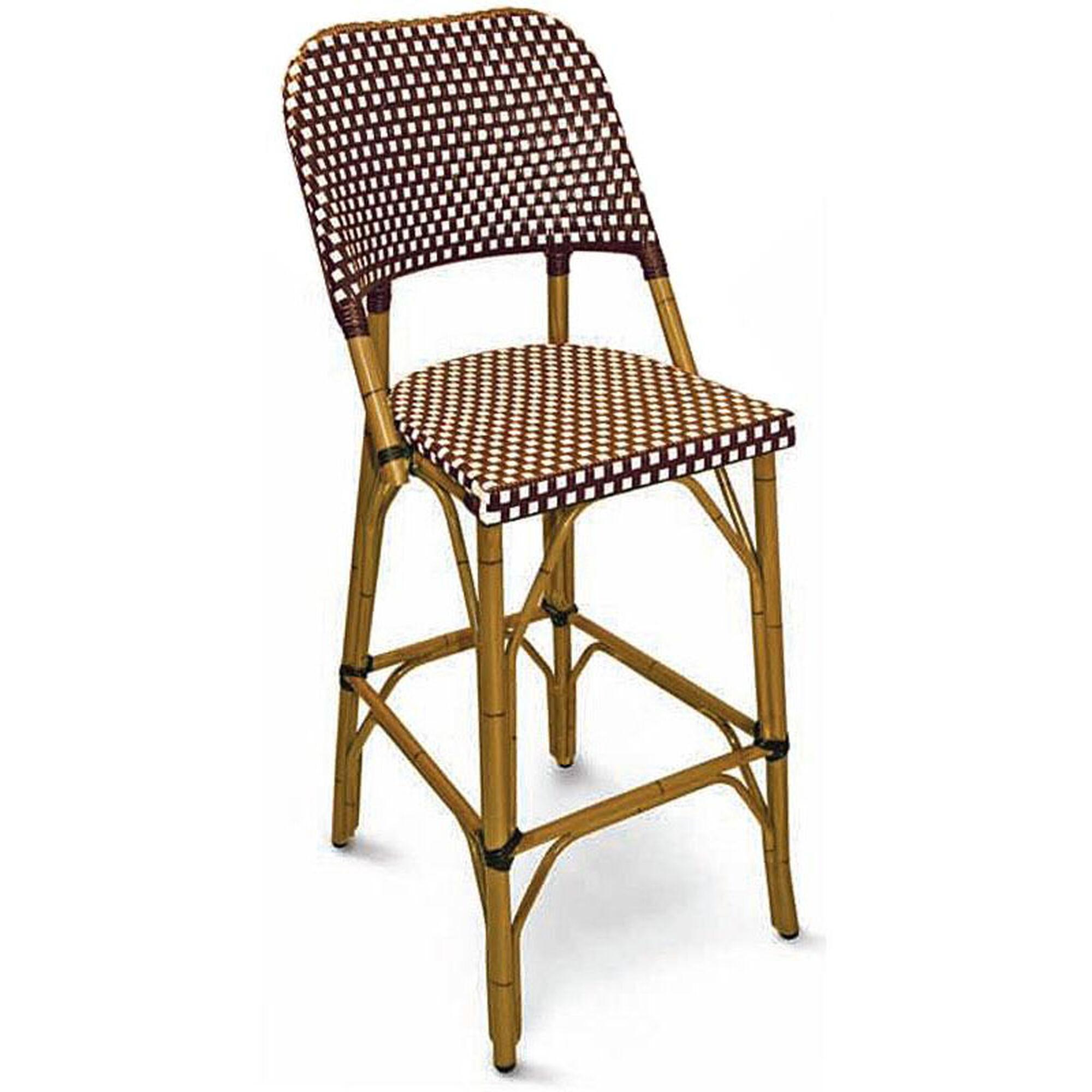 Outdoor Armless Barstool Rattan Brt 01 Churchchairs4less Com