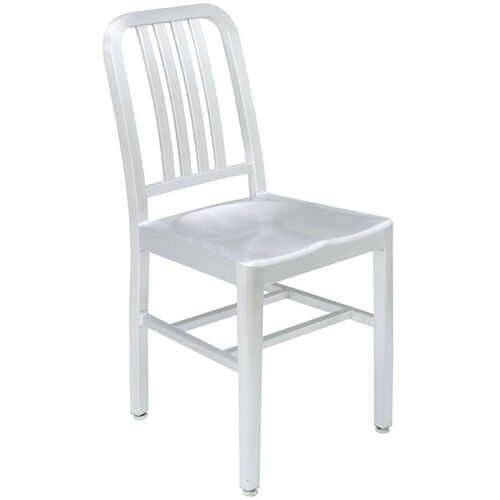 Our Outdoor Aluminum Armless Side Chair - Silver is on sale now.