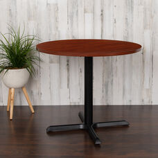"""36"""" Round Multi-Purpose Conference Table in Cherry"""