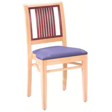 589 Stacking Chair w/ Upholstered Seat - Grade 1