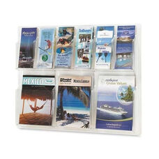 Safco Display Rack - 6 Pamphlet/3 Magazine - 30