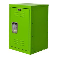 Sour Apple Green Kids Mini Locker - Unassembled - 15