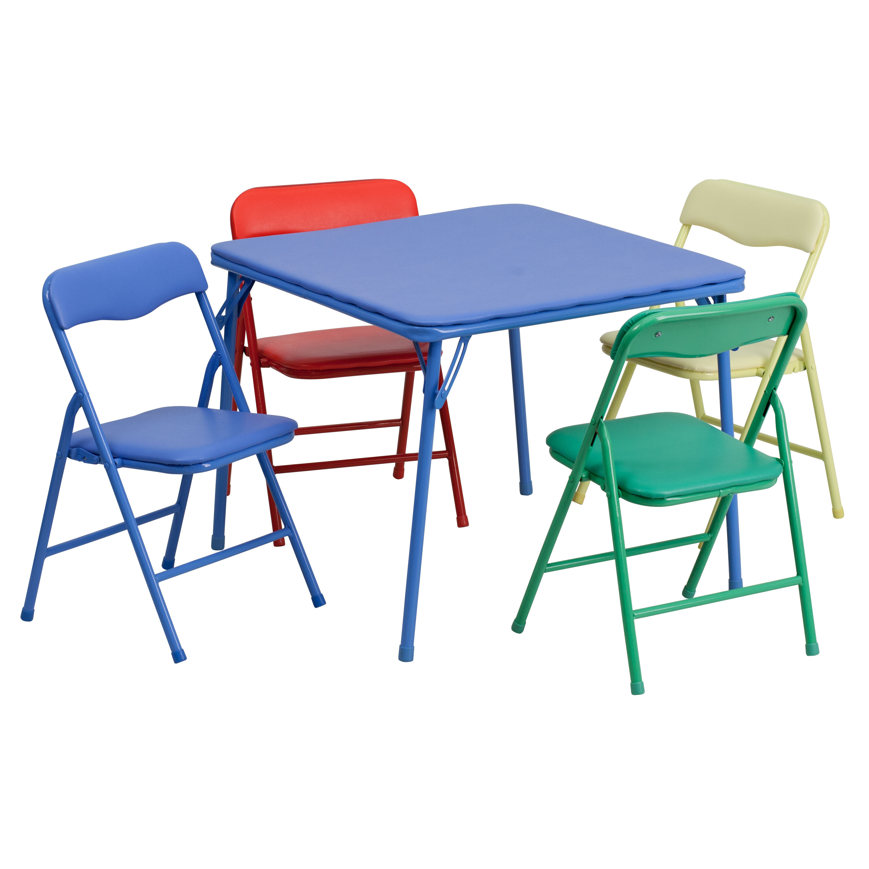 - Colorful Kid Folding Table Set JB-9-KID-GG ChurchChairs4Less.com