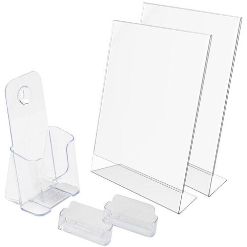 New Business 5 Piece Display Starter Kit - Clear