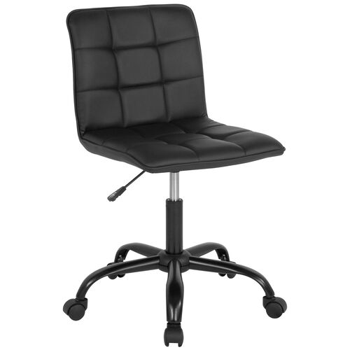 Our Sorrento Home and Office Task Chair in Black LeatherSoft is on sale now.
