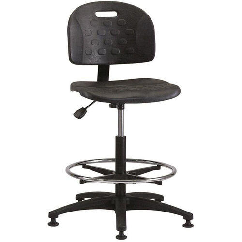Our Industrial Specialty Black Polyurethane ABS Base Task Chair with Glides and Footring is on sale now.