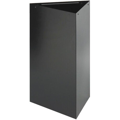 Our Trifecta® 17 Gallon Triangular Waste Receptacle - Black is on sale now.