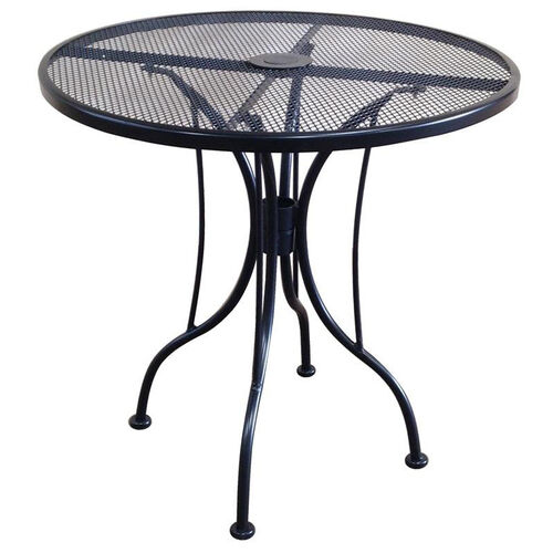 Our Outdoor Wrought Iron Table with 36