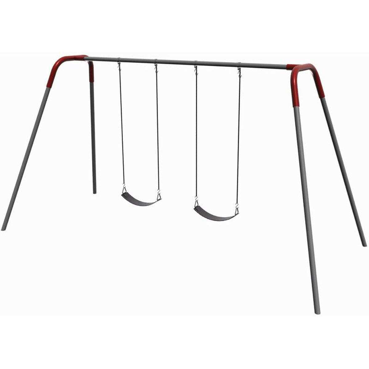 2 Seat Modern Bipod Swing Set 581 238 Churchchairs4less Com