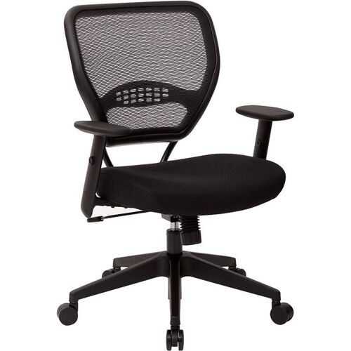 Our Space Professional Air Grid Back Managers Chair with Mesh Seat and 2-to-1 Synchro Tilt Control - Black is on sale now.