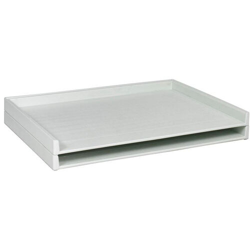 Our Giant Stack Tray for 30 x 42 Documents - Set of Two - White is on sale now.