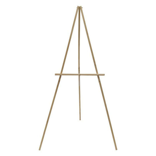 Our Solid Wood Frame Height Adjustable Portable Studio Display Easel - Natural is on sale now.