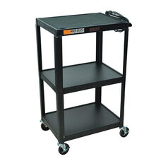 Fixed Height Utility & Audio Visual Cart - 42