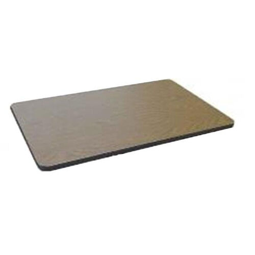 Rectangular High Pressure Laminate Table Top with Black T-Mold - 30