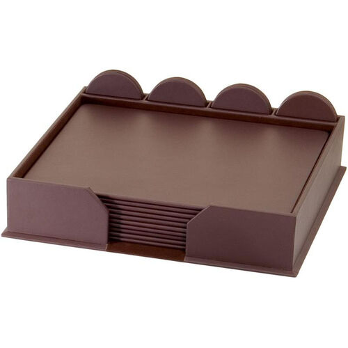 Our Leatherette 23 Piece Conference Room Set - Chocolate Brown is on sale now.