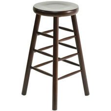 Classic Indoor Collection Beechwood Backless Bistro Height Barstool