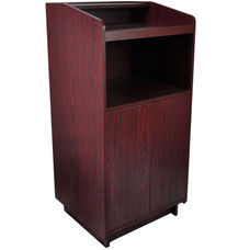 Advantage Mahogany Wood Speaker's Podium