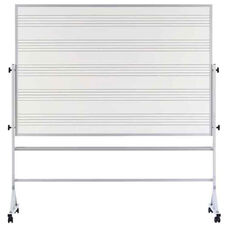 Pro-Rite® Markerboard with Music Staff Lines and Aluminum Trim