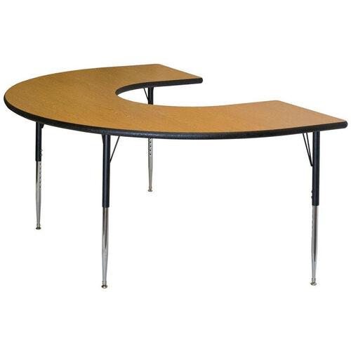 Our Horseshoe Shaped #226 Activity Table with Lotz Armor Edge and Anti-Gum Coated Phenolic Backer is on sale now.