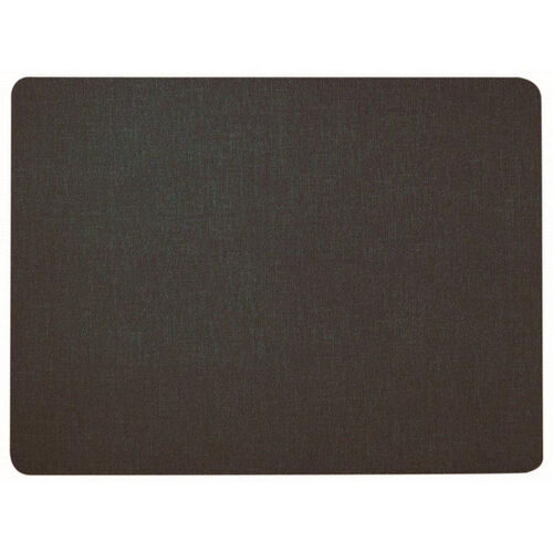 Frameless Designer Fabric Display Panel with Radius Corners - Black - 36