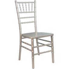 Advantage Champagne Wood Chiavari Chair