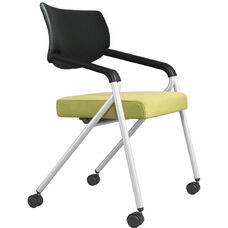 Join Me Upholstered Molded Back Nesting Chair