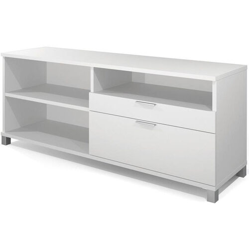Our Pro-Linea Credenza with Adjustable Shelving and Storage Drawers - White is on sale now.