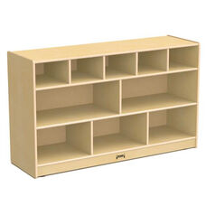 Low Combo Mobile Storage Unit without Trays