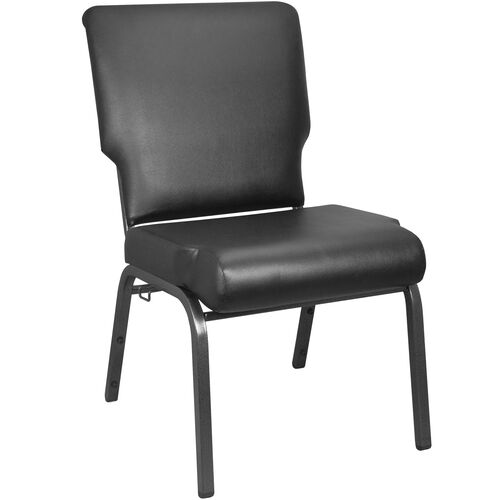 Our Advantage Black Vinyl Church Chair 20.5 in. Wide is on sale now.