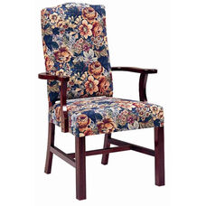 5035 Arm Chair w/ Upholstered Back & Webbed Seat - Grade 1