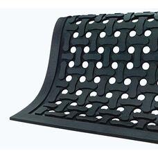 Anti-Fatigue Black Comfort Flow Drainable Floor Mat