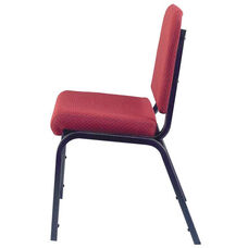 1020 Series Stacking Steel Frame Musicians Armless Chair with 2