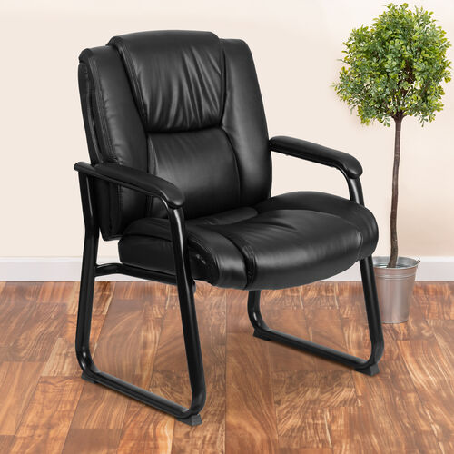 Our Reception Chairs   Black LeatherSoft Side Chairs for Reception and Office is on sale now.