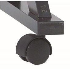 Plastic Swivel Casters - 2 Locking and 2 Non-Locking