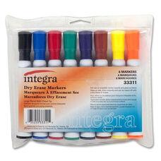 Integra Dry Erase Marker - 8/ST