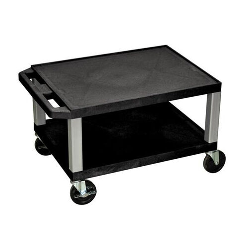Tuffy Plastic Cart with Nickel Legs