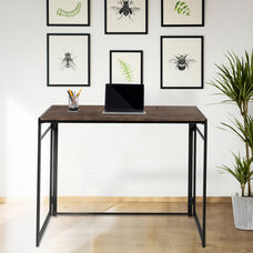 Rustic Home Office Folding Computer Desk - 40""