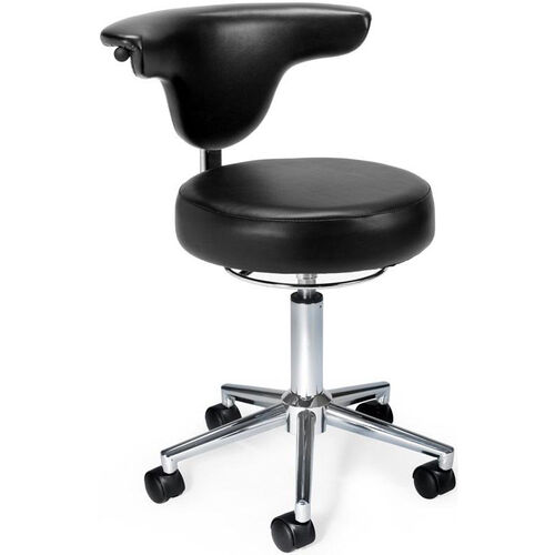 Our Anatomy Anti-Microbial and Anti-Bacterial Vinyl Chair - Black is on sale now.