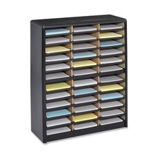 Safco Literature Sorter - 36 Compartments - 32 1/4