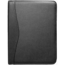 Writing Padfolio - Top Grain Nappa Leather - Black