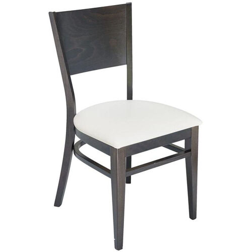 Our Classic Indoor Collection Beechwood Solid Half Back Side Chair - Walnut is on sale now.