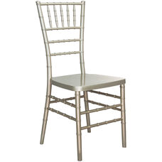 Advantage Champagne Resin Chiavari Chair