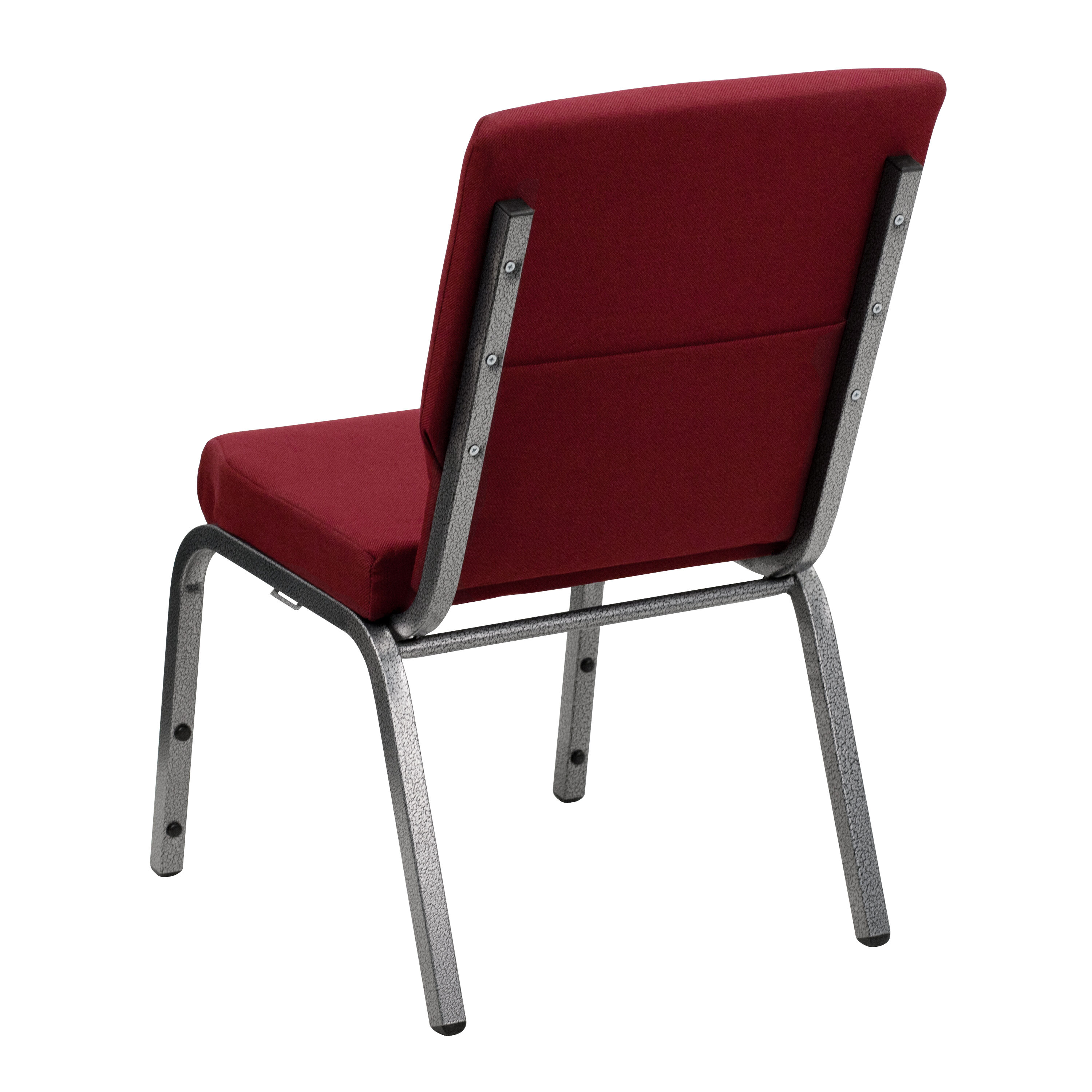 Exceptionnel Burgundy Fabric Church Chair XU CH 60096 BY SILV GG | ChurchChairs4Less.com