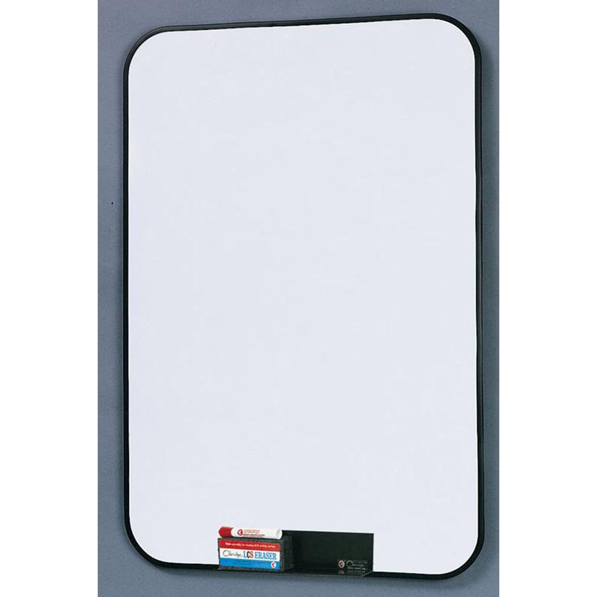 2800 Series White Porcelain Markerboard With Black Vinyl
