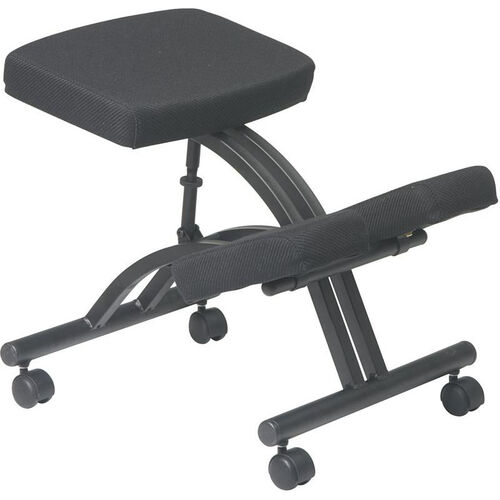 Our Work Smart Ergonomically Designed Knee Chair with Casters andMemory Foam - Black is on sale now.