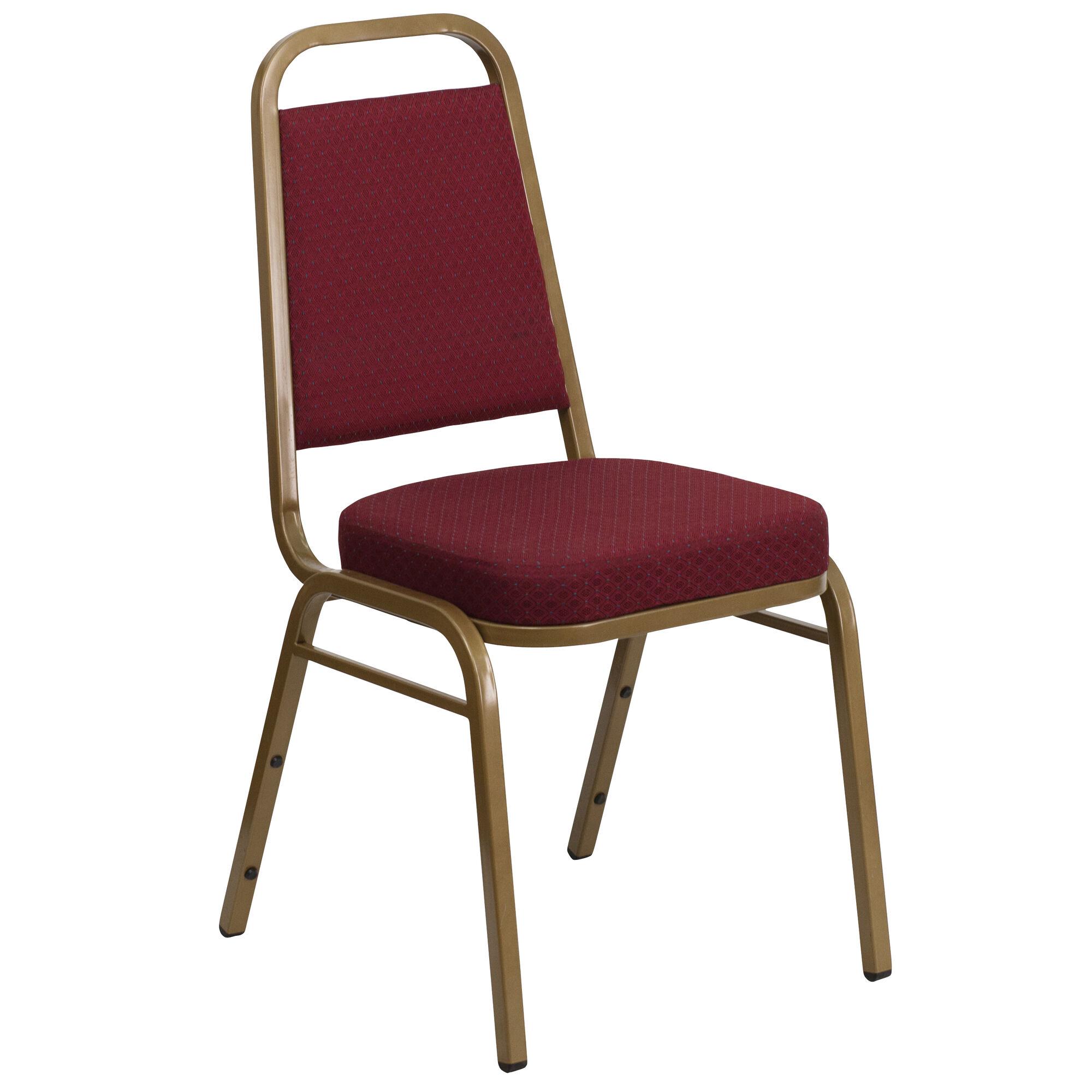 Burgundy Fabric Banquet Chair Fd Bhf 1 Allgold 0847 By Gg