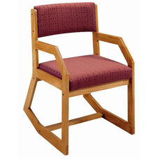 2222 Arm Chair: Two- Position w/ Upholstered Back & Seat - Grade 1