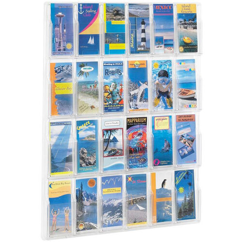 Our Reveal™ Twenty-Four Pamphlet Thermoformed Display - Clear is on sale now.