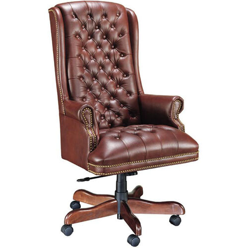 Our Quick Ship Traditional Series Tufted Extra High Back Executive Swivel Chair is on sale now.